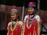 The Karen or Kayin people (Pwa Ka Nyaw Poe or Kanyaw in Sgaw Karen and Ploan in Poe Karen; Kariang or Yang in Thai), are a Sino-Tibetan language speaking ethnic group which resides primarily in southern and southeastern Burma (Myanmar).<br/><br/>  The Karen make up approximately 7 percent of the total Burmese population of approximately 50 million people. A large number of Karen also reside in Thailand, mostly on the Thai-Burmese border.<br/><br/>  The Karen are often confused with the Red Karen (or Karenni). One subgroup of the Karenni, the Padaung tribe from the border region of Burma and Thailand, are best known for the neck rings worn by the women of this group of people.<br/><br/>  Karen legends refer to a 'river of running sand' which ancestors reputedly crossed. Many Karen think this refers to the Gobi Desert, although they have lived in Burma for centuries.<br/><br/>  The Karen constitute the biggest ethnic population in Burma after the Bamars and Shans.